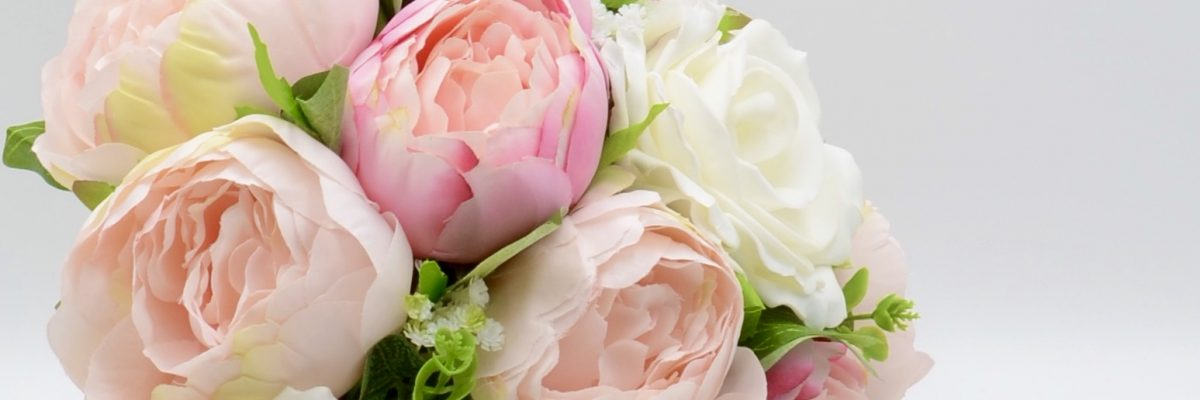 Stunning artificial wedding flowers
