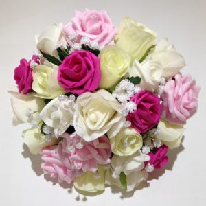 Pink, Yellow and White Posy