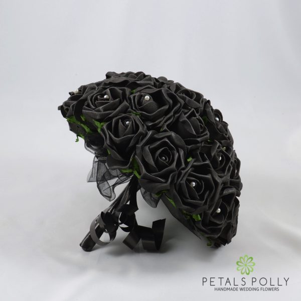 Black Rose Brides Posy