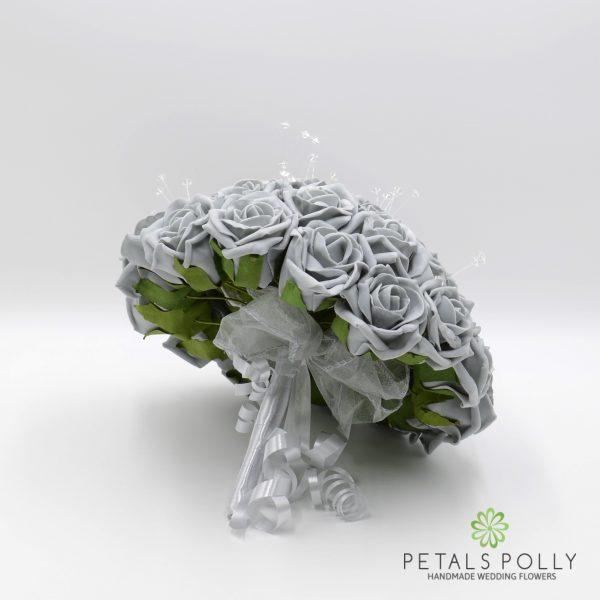 Grey Rose Brides Posy