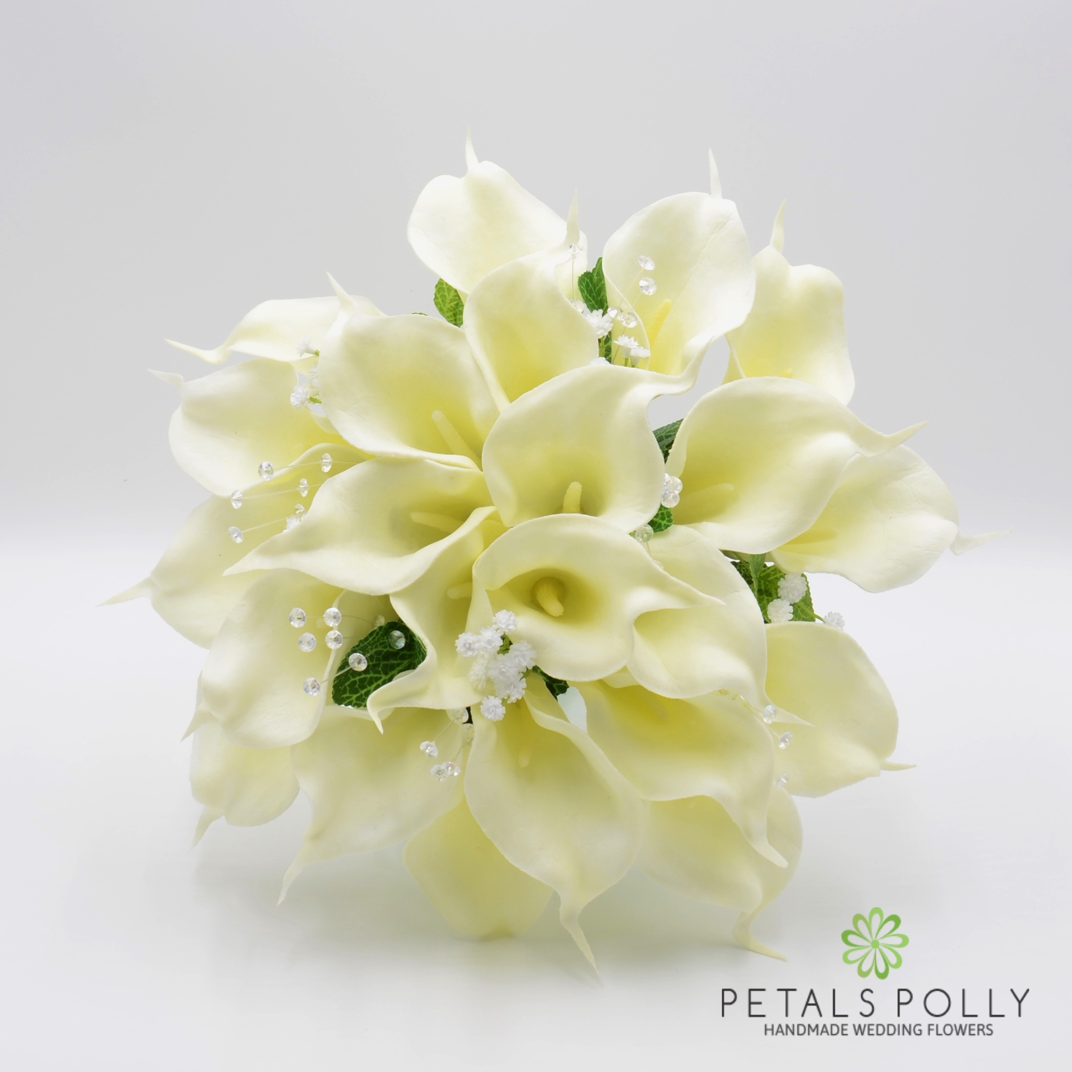 Silk Wedding Flowers Hand Made By Petals Polly Brides Posy