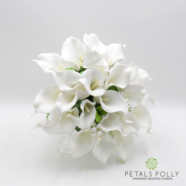 White Calla Lily Brides Posy