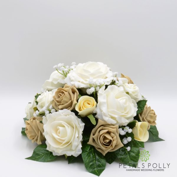 Cappuccino & Ivory Rose with Ranunculus Package