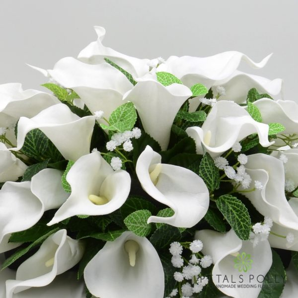 White Calla Lily Top Table Decoration