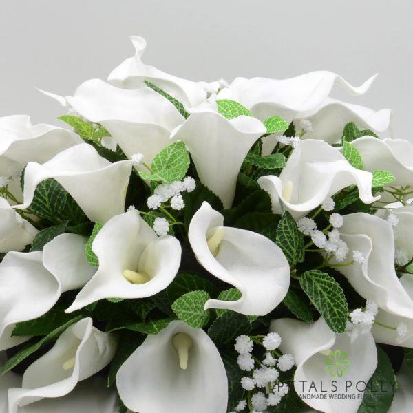 White Calla Lily Top Table Decoration