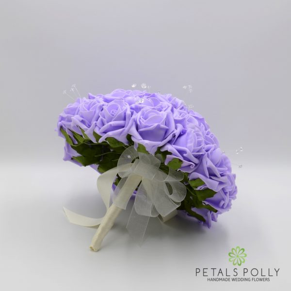 Lilac Rose Brides Posy