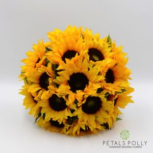 Artificial Sunflower Brides Posy bouquet