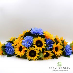 silk sunflower gerbera top table decoration