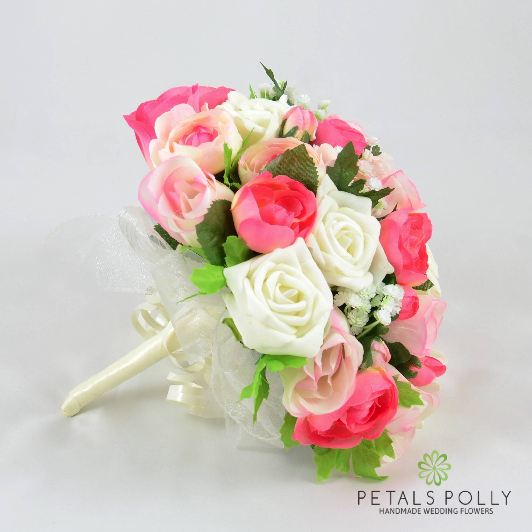 Silk Wedding Flowers Hand Made By Petals Polly Brides Posy Baby