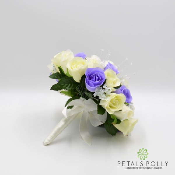 Lilac & Ivory Rose Package