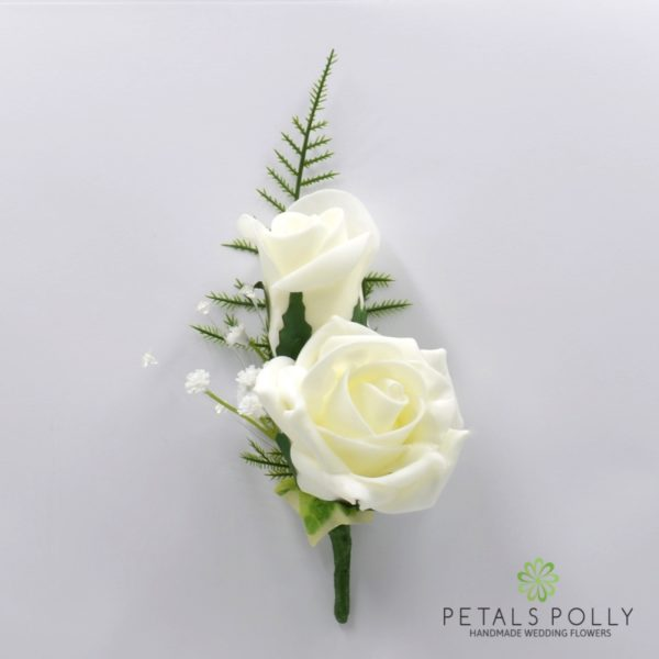 Ivory Foam Rose Package