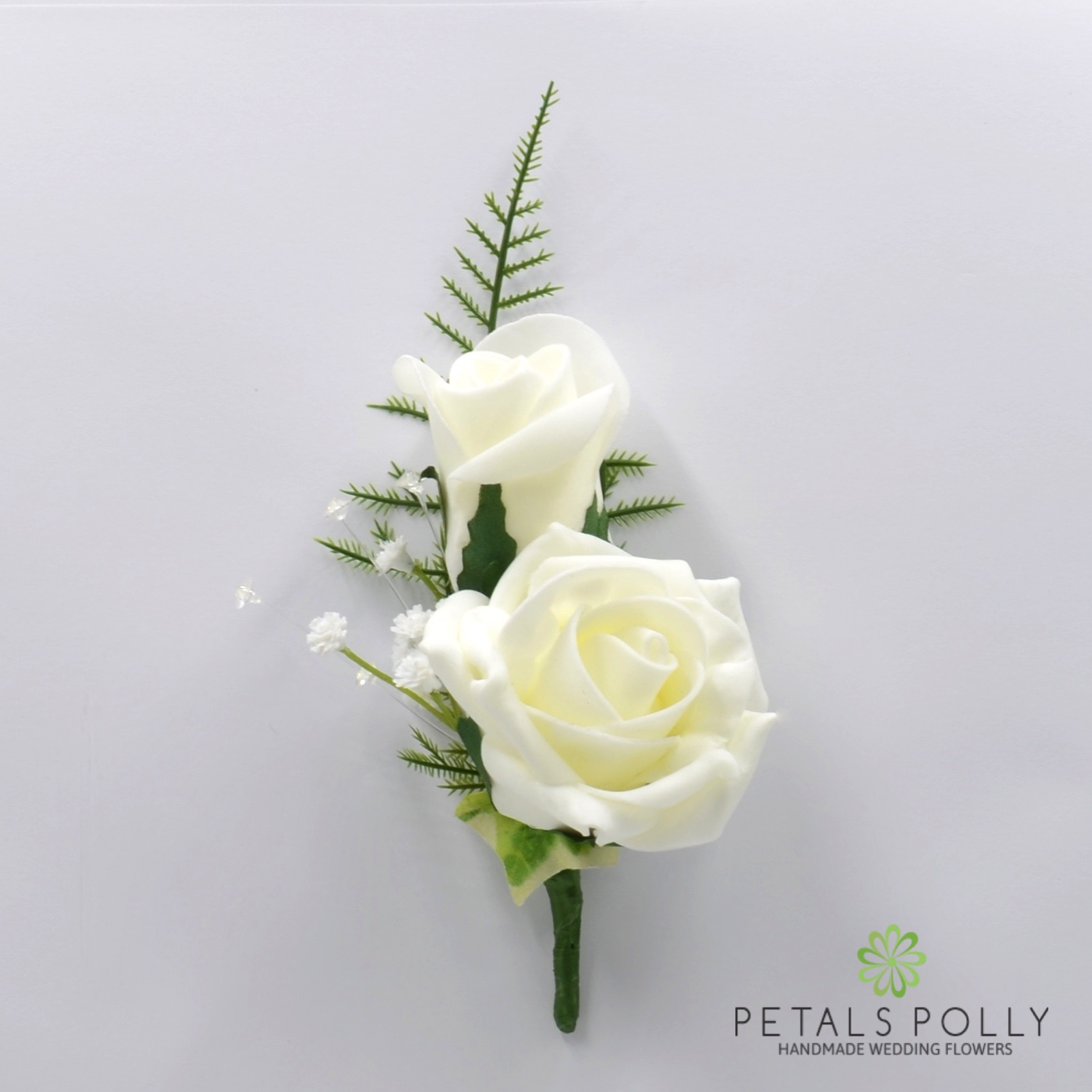 Artificial Wedding Flowers Hand Made By Petals Polly Foam Rose