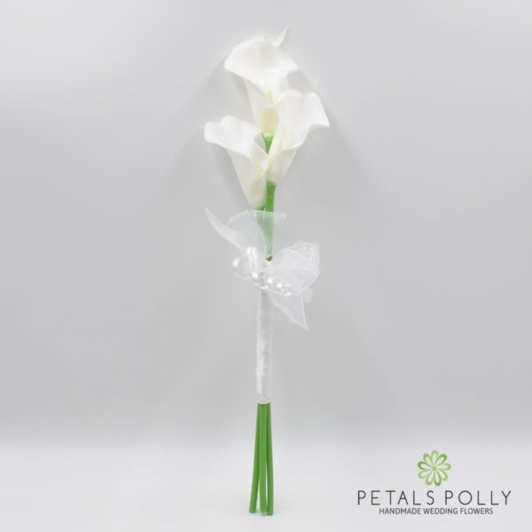 White Calla Lily Bridesmaids Wand