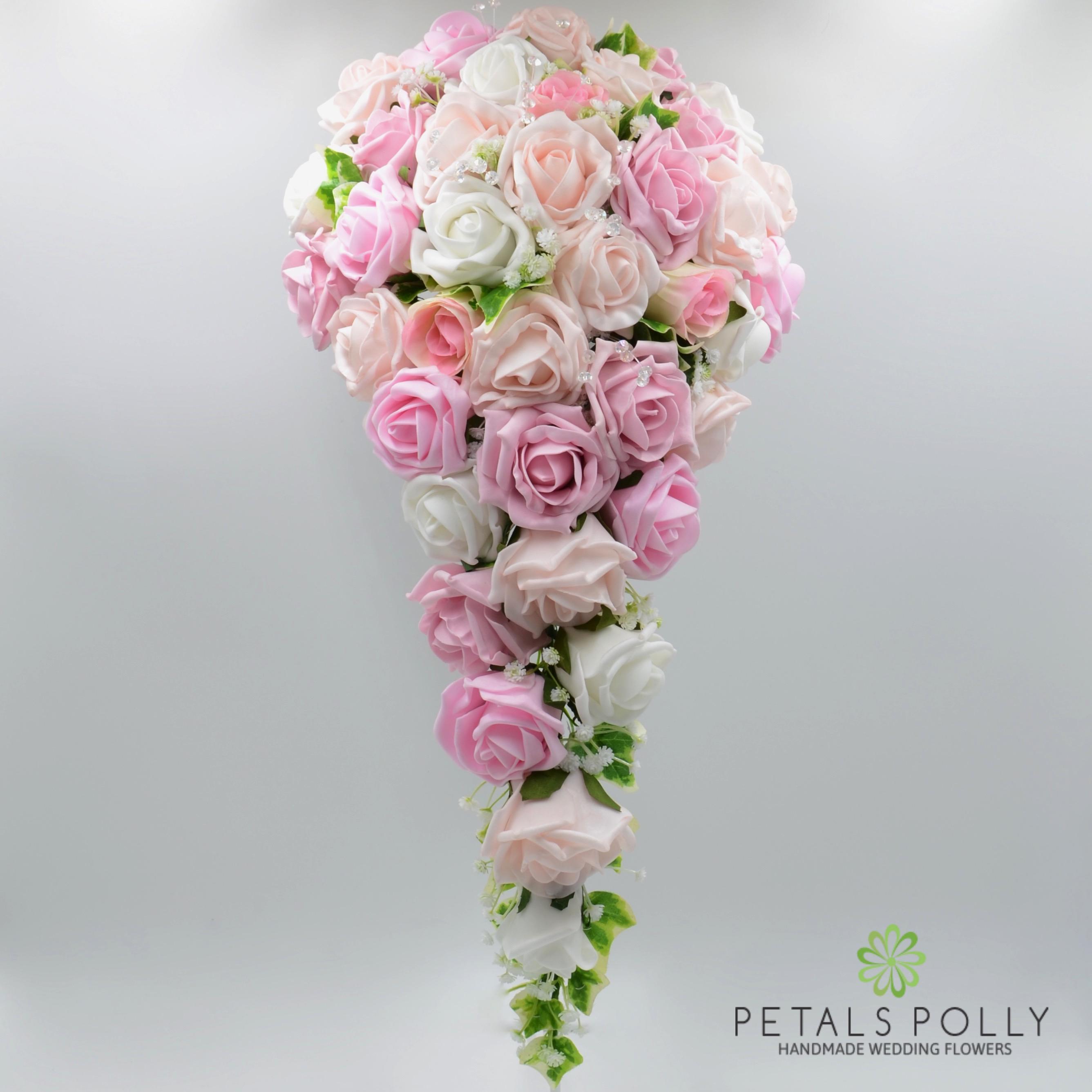 Baby Pink Antique Pink Blush Pink White Rose Package