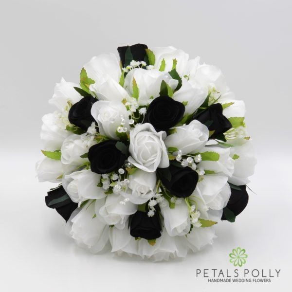 Black & White Rose Package