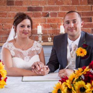 rachel's wedding sunflower silk