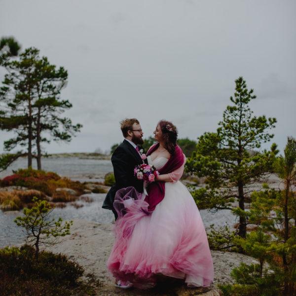 Plum burgundy silk wedding flowers