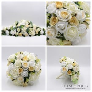 ivory white wedding package
