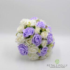 lilac brides posy