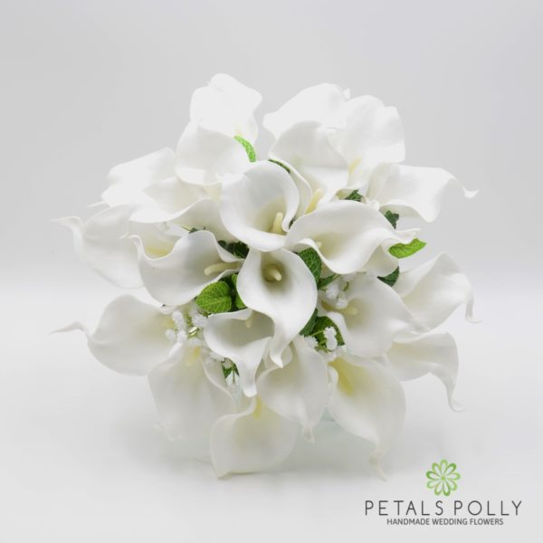 White Calla Lily Package