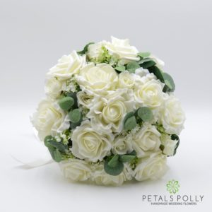 ivory wedding flower package