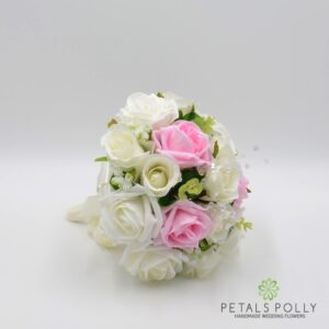 baby pink rose posy