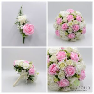 BABY PINK WEDDING FLOWER PACKAGE