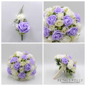 LILAC WEDDING FLOWER PACKAGE