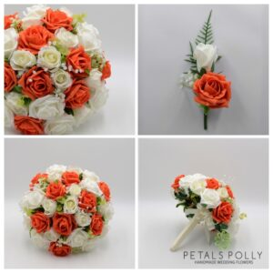 ORANGE WEDDING FLOWER PACKAGE