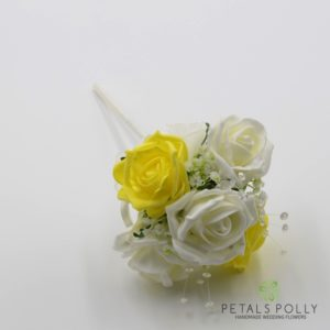 yellow flower girl wand