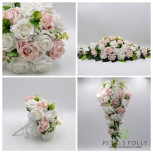 white mocha wedding package