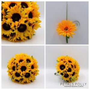 sunflower wedding flower package