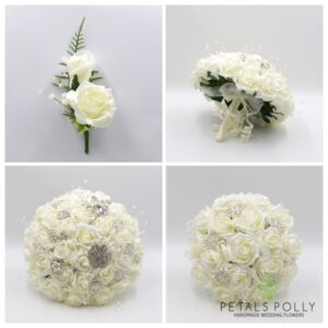 ivory brooch wedding package